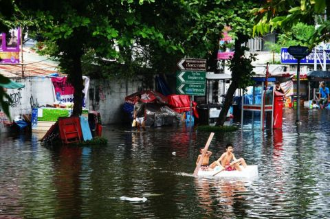 Flooding Bangkok